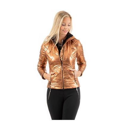 Afbeeldingen van Anky Quilted jacket Copper
