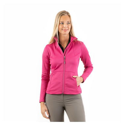 Picture of Anky Printed technostretch jacket Very Berry