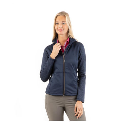 Picture of Anky Printed technostretch jacket Navy