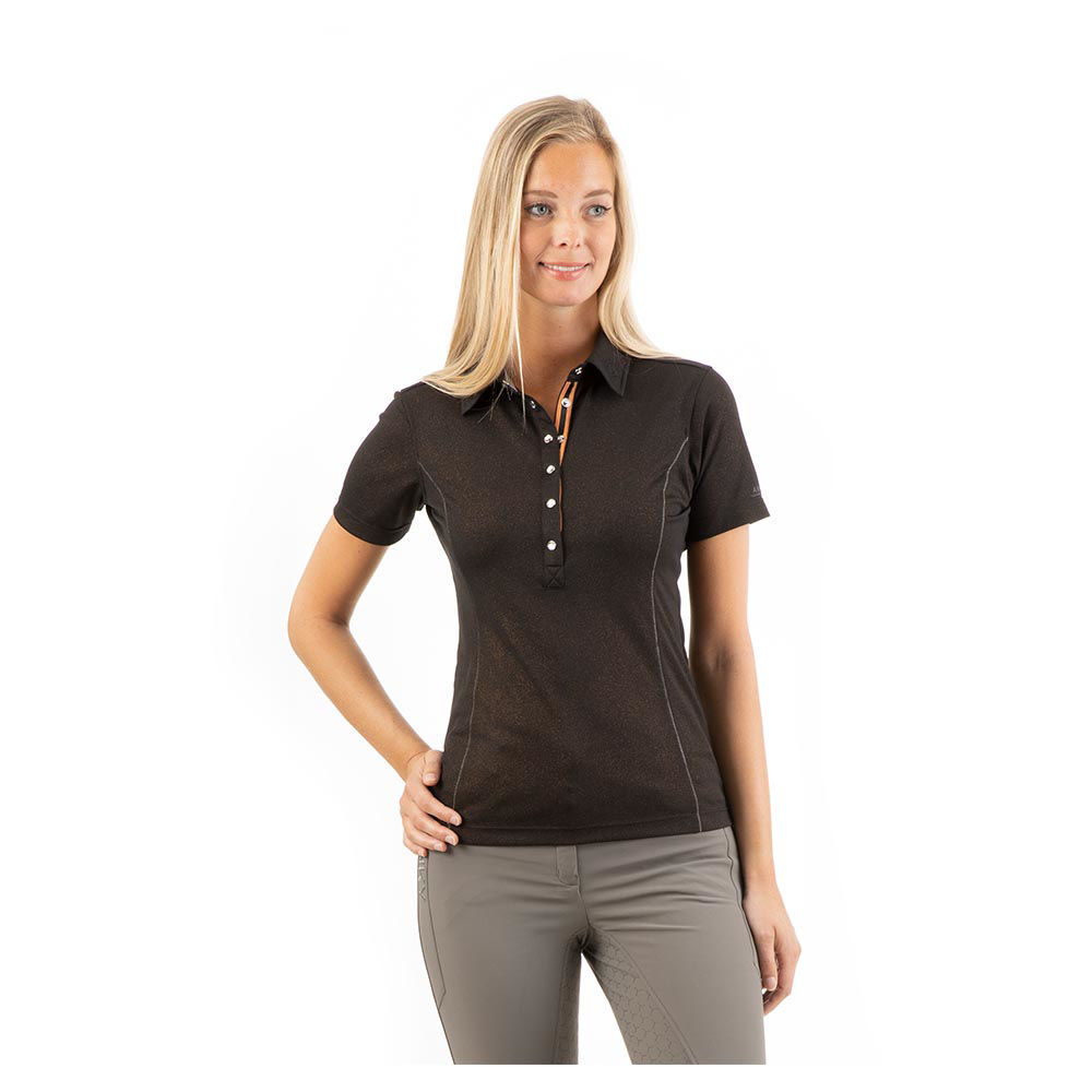 Picture of Anky Essential polo shirt Black