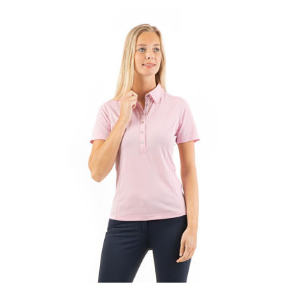 Picture of Anky Essential polo shirt Candy pink