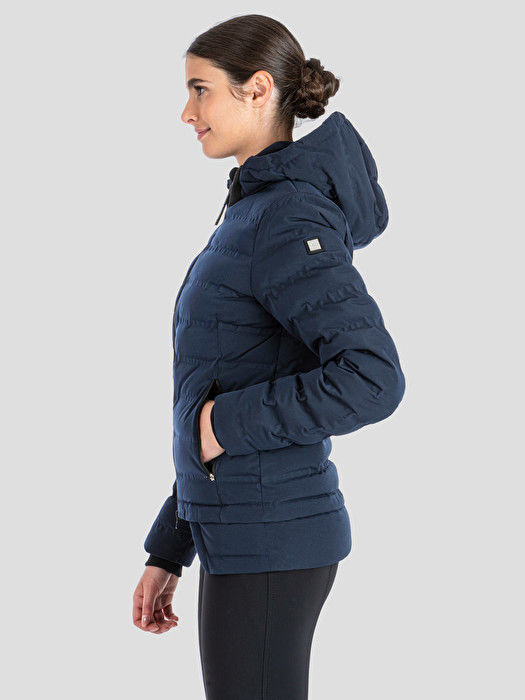 Picture of Equiline Woman down jacket Navy