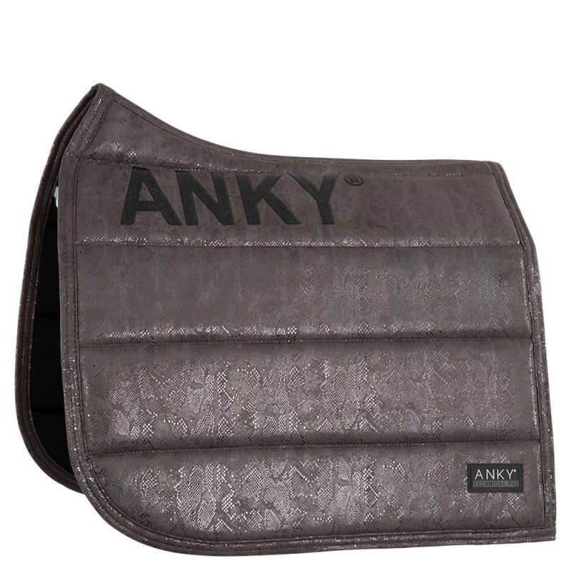 Picture of ANKY® pad Suede Glitter dressuur Antraciet