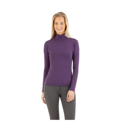 Picture of ANKY® Mockneck Shirt Crown jewel